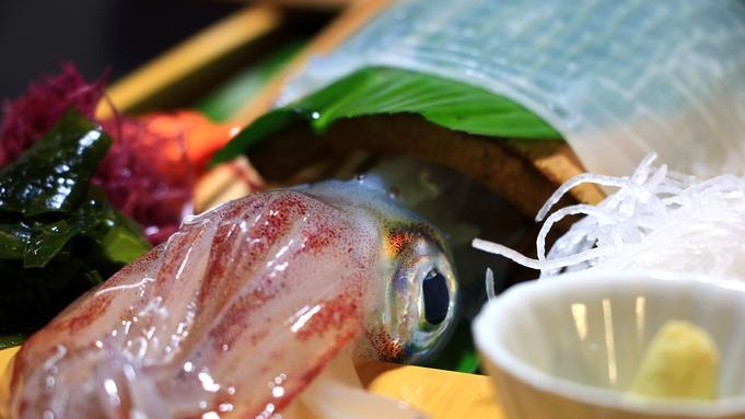 天然魚と玄海活イカプラン!宗像の二大グルメを堪能♪