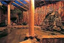 竹使い露天風呂