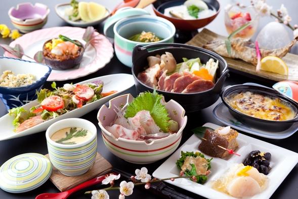 ☆夕食選べるプラン☆4種のメインからお好きなものをチョイス