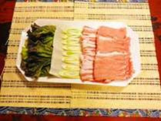 【部屋食or個室食】【ファミリー】 甘味がたっぷり豚しゃぶコース
