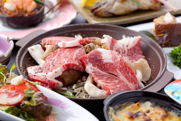 【部屋食or個室食】豊後牛豆乳しゃぶしゃぶ+ちゃんちゃん焼きプラン