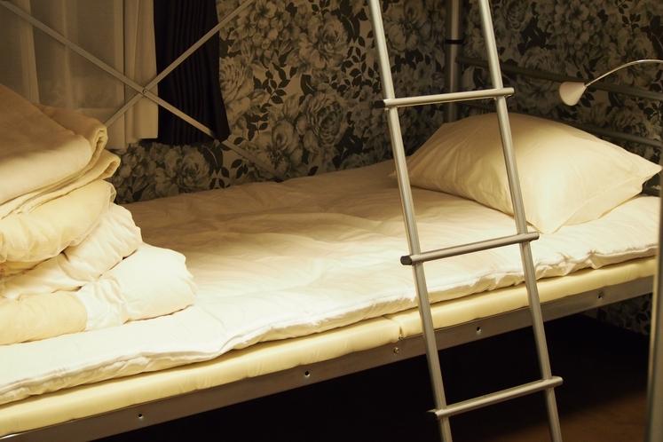 ベッドのお部屋 一角 一人用