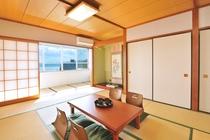 12畳和室1 緑の床の間