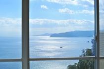 客室 窓からの風景