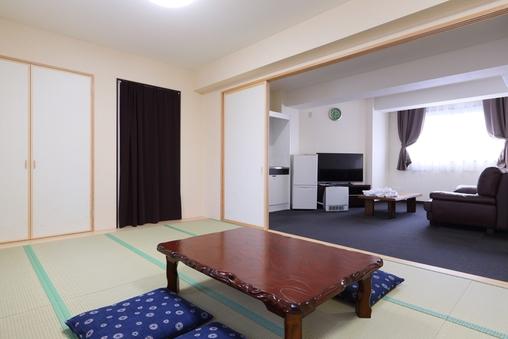 【禁煙】最上階和室12畳リビングルーム