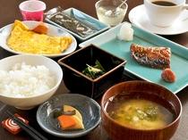 【朝食一例】手作りの家庭的な朝食です
