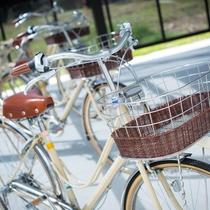 *レンタサイクル(無料)/ホテル周辺にはコンビニや飲食店など御座いますのでご自由にご利用ください。