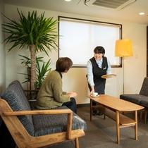 *館内/全館禁煙の為、匂いが気になる人も大丈夫。女性客にも好評のホテルです。