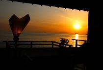 夕日 イメージ