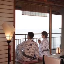■【客室】海の眺め-2