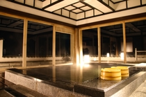 風月の湯 夜