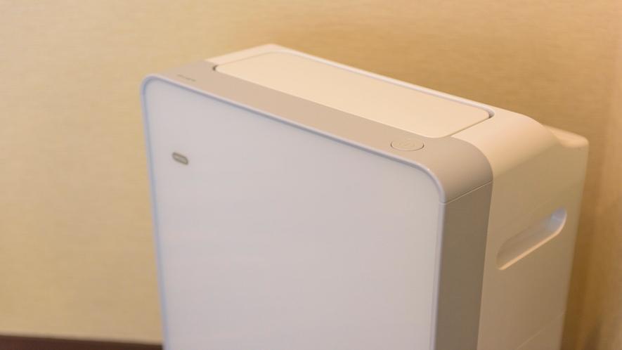 全てのお部屋の加湿空気清浄機