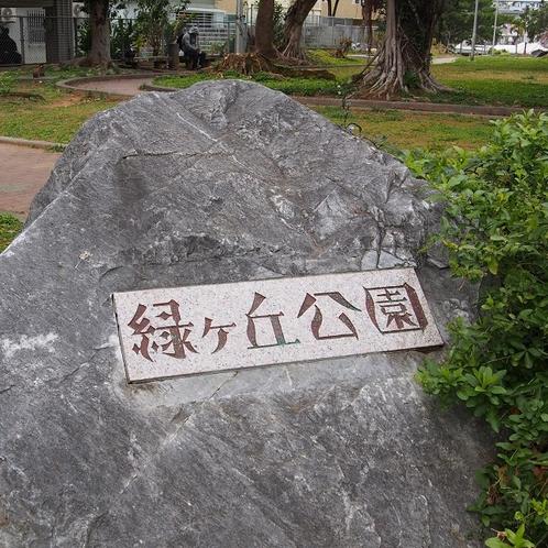【緑が丘公園】ファミリー・カップルに人気の公園です。