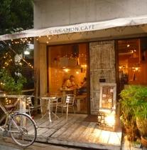 【ニューパラダイス通り】沖縄のカフェのさきがけと言われるCinnamon Cafe(シナモンカフェ)