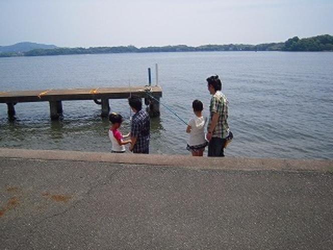 家族で釣り♪