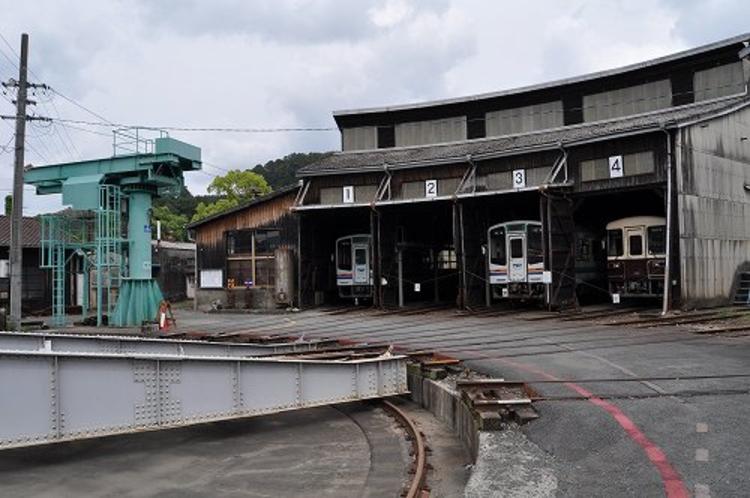 天竜浜名湖鉄道 天竜二俣駅転車台