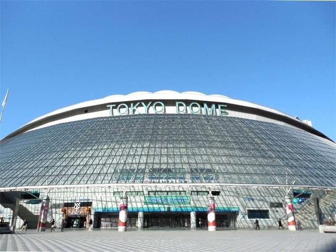 東京ドーム  秋葉原駅からJR線で水道橋駅まで約5分