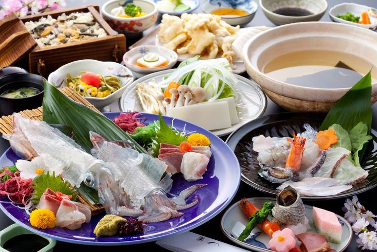 海鮮しゃぶ鍋プラン