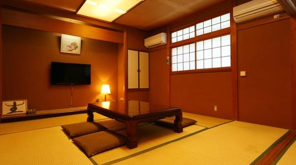 落ち着いた趣の静かな純和室8畳