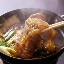 夕食_すき焼き
