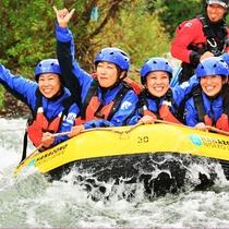 *ラフティング/羊蹄山の麓を流れる尻別川をボートで駆け巡ろう!