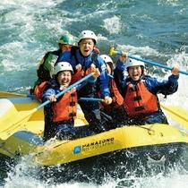 *ラフティング/子供も参加できるエコラフティングもアリ◎春から夏に人気のスポーツです。