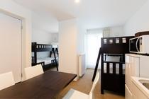 4人部屋スタジオ(2段ベッド)