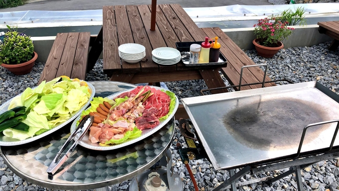 【夕食BBQ+朝食つき】沖縄の静かなやんばるに位置する美ら丘テラスでバーベキューを満喫!