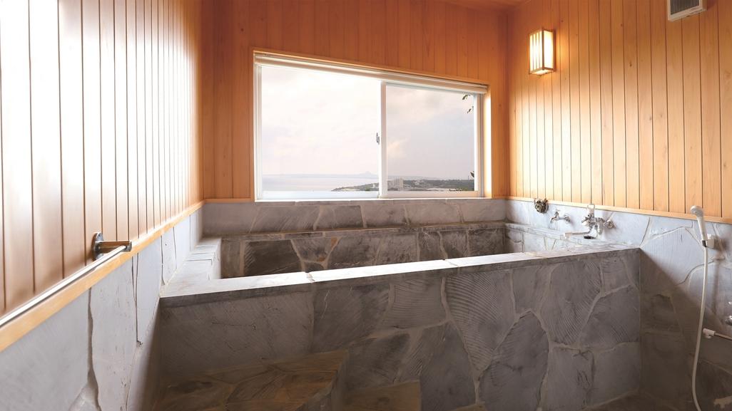 ≪輝≫お風呂は自慢の岩風呂です
