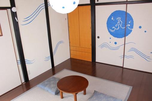 【藍の間】フローリング和室(6畳)