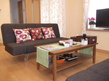 1F貸切 ひろ〜い漆喰壁の洋室と和室
