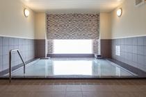 2階 大浴場『絹の湯』15時~24時 翌朝6時~9時まで