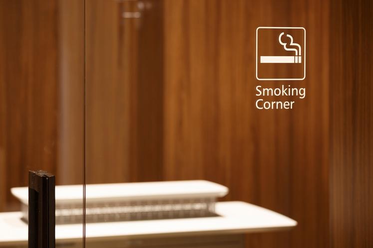 喫煙スペース1階