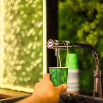 スーパーホテル自慢の健康イオン水♪