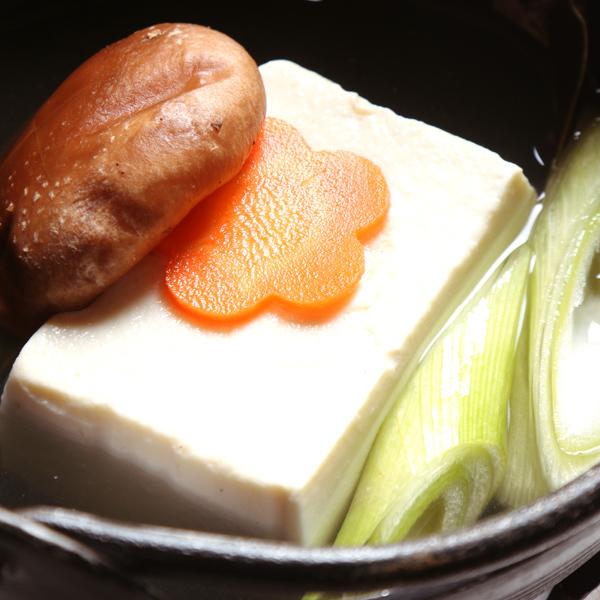 ご朝食〜湯豆腐〜