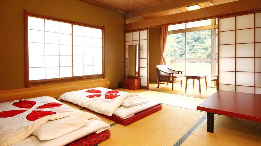 【お部屋タイプA】和室12畳・TV付き・トイレ付