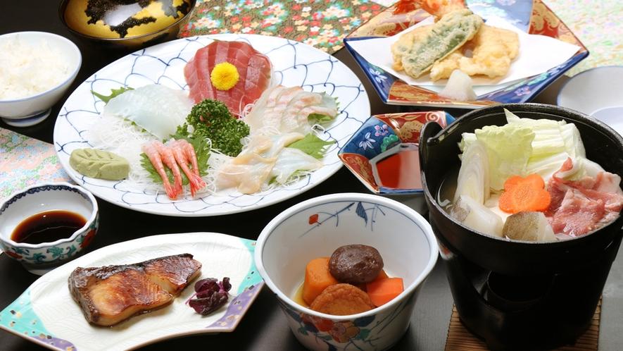 夕食全体(秋冬)