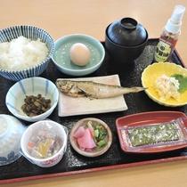 *【朝食一例】米は地元産石見高原ハーブ米を使用