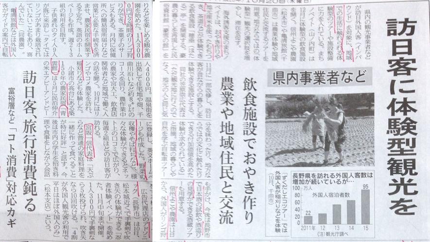*日本経済新聞記事 当館の取り組みが紹介されました
