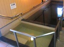 【温泉】水風呂にはゆっくり入ってくださいね