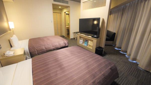 ◆禁煙スーペリアツインルーム◆ベッド幅140cm