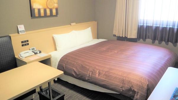 ◇喫煙ダブルルーム◇ベッド幅160cmコンフォート仕様