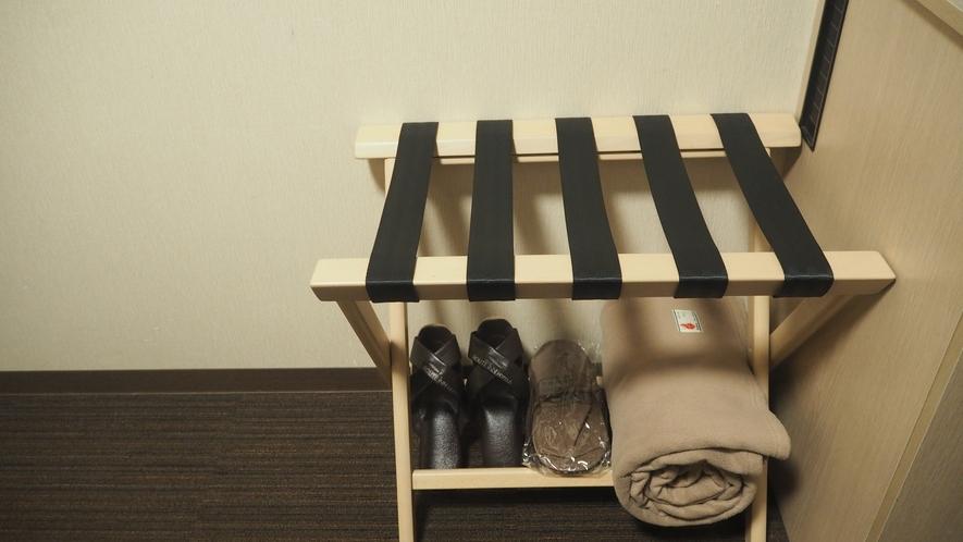 【客室 荷物置き】