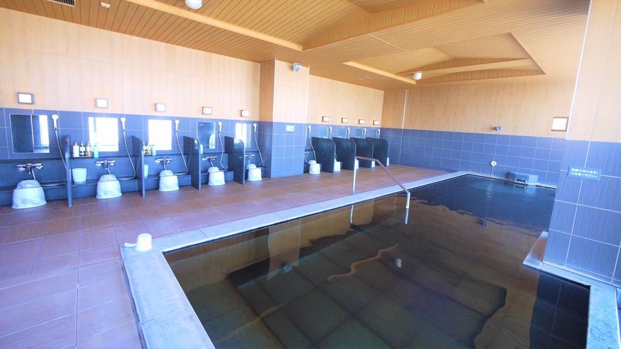 【17階 天人峡天然温泉-旅人の湯-】 大浴場内