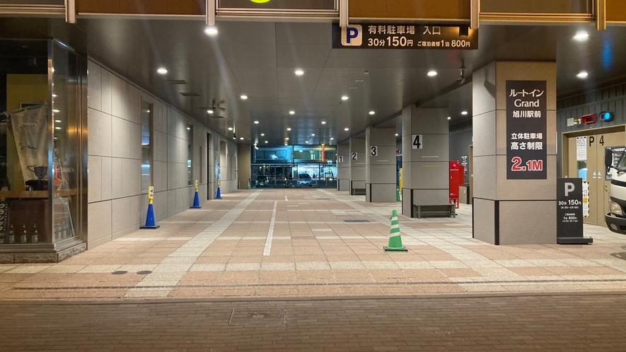 立体駐車場 入口