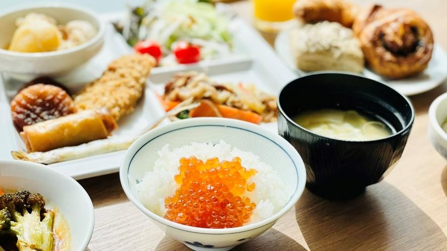 【朝食レストラン -ラ・メール-】北海道を満喫出来る朝食メニュー♪