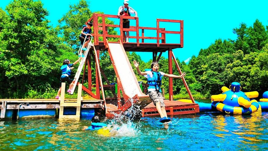 <夏>【まるかじりプラン】福島県初ウォーターパーク!水遊びとBBQ両方が楽しめる♪