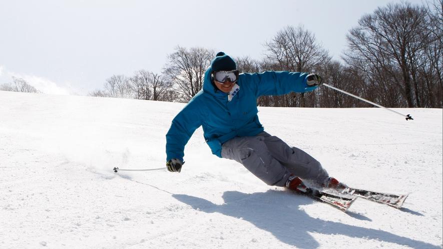 <冬>【スキー・スノボー】近隣の猫魔スキー場などへは無料送迎バスも運行しております♪