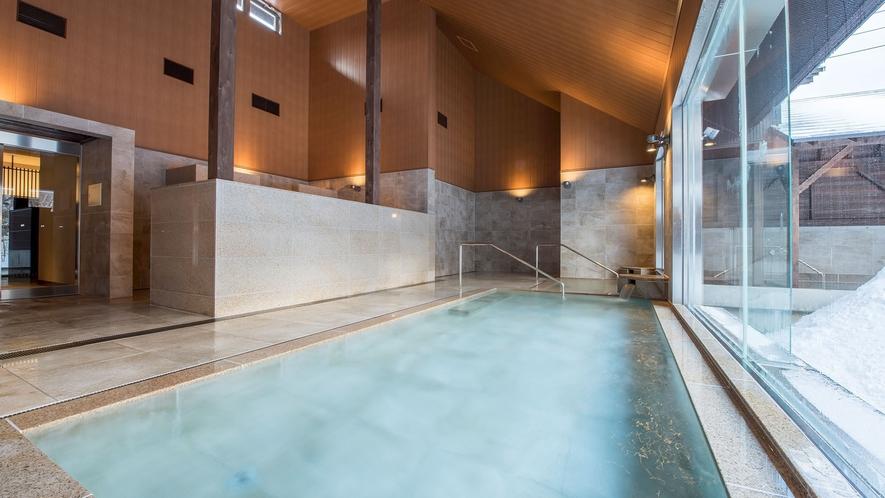 【虹の森温泉】迎賓館 猫魔離宮 ご宿泊者様専用大浴場です。