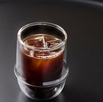 【ロングブラック(アイス)】エスプレッソをお水で割った爽やかなブラックコーヒー※ご宿泊者は何杯でも無